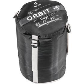 Deuter Orbit +5° Schlafsack Long granite-steel